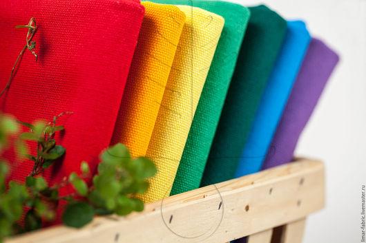 Шитье ручной работы. Ярмарка Мастеров - ручная работа. Купить Канвас 7 цветов. Handmade. Ткань, канвас