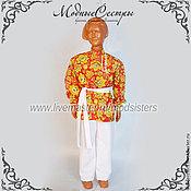 Одежда handmade. Livemaster - original item Costume in folk Art style.130. Handmade.