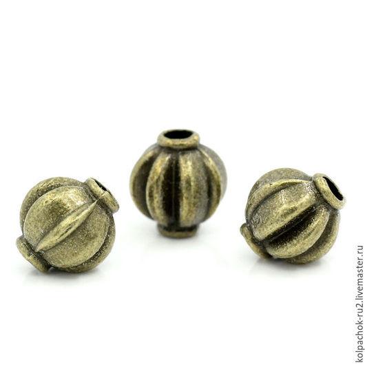 Для украшений ручной работы. Ярмарка Мастеров - ручная работа. Купить Разделитель для бусин, размер 8мм, цвет бронза. Handmade.