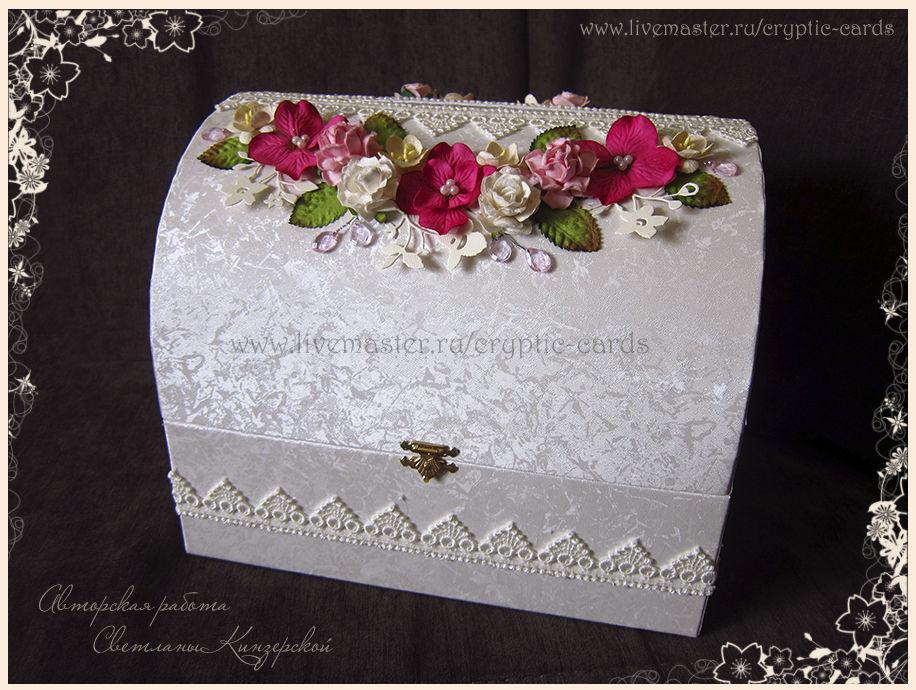 свадебные сундучки для денег. фото