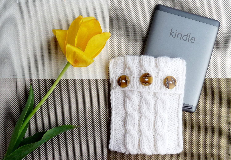 Вязаный чехол для электронной книги, iPad, планшета, Чехол, Москва,  Фото №1