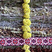 Русский стиль ручной работы. Ярмарка Мастеров - ручная работа Тканая дорожка из крымских трав с лавандой. Handmade.