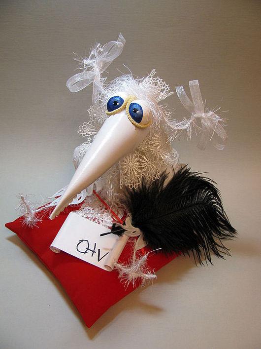 Подарки для влюбленных ручной работы. Ярмарка Мастеров - ручная работа. Купить Венценосная особа. Handmade. Ворона, птица, кожа искусственная