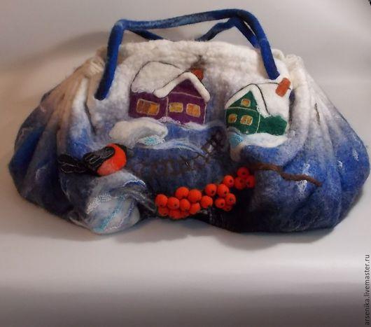 Женские сумки ручной работы. Ярмарка Мастеров - ручная работа. Купить Сумочка. Handmade. Тёмно-синий, сумка ручной работы