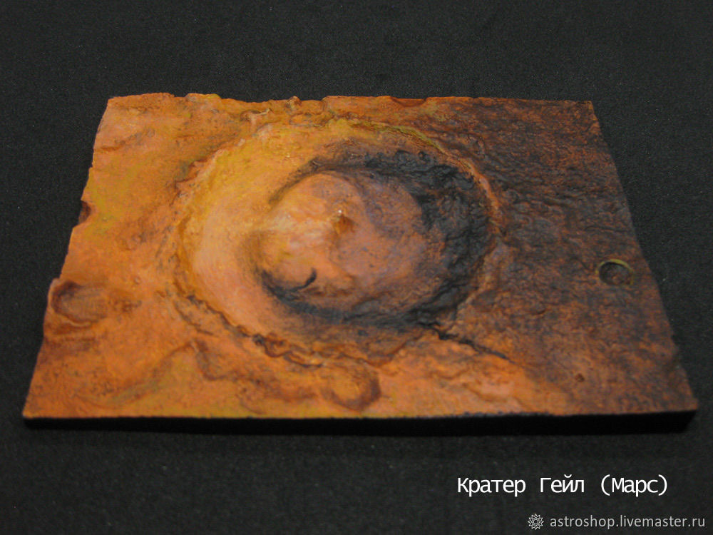 Craters and plateaus (Mars and the Moon), Model, Moscow,  Фото №1