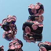 Материалы для творчества ручной работы. Ярмарка Мастеров - ручная работа Бусинки  лэмпворк 57. Handmade.