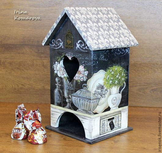 Кухня ручной работы. Ярмарка Мастеров - ручная работа. Купить La Maison, Чайный домик. Handmade. Темно-серый, кухня