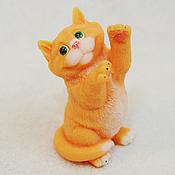 Материалы для творчества handmade. Livemaster - original item Silicone molds for soap British cat. Handmade.