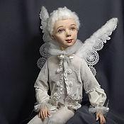 Куклы и игрушки ручной работы. Ярмарка Мастеров - ручная работа Подвижная кукла Ангел. Handmade.