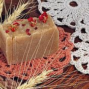 Для дома и интерьера ручной работы. Ярмарка Мастеров - ручная работа Льняная эко-мыльница. Handmade.