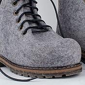 """Обувь ручной работы. Ярмарка Мастеров - ручная работа Ботинки из войлока """"Favorite"""". Handmade."""