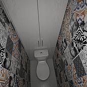Дизайн и реклама ручной работы. Ярмарка Мастеров - ручная работа Варианты ванной комнаты  и сан.узла. Handmade.