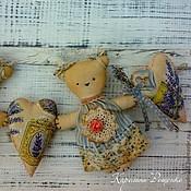 Куклы и игрушки ручной работы. Ярмарка Мастеров - ручная работа Лавандовые мишки. Handmade.