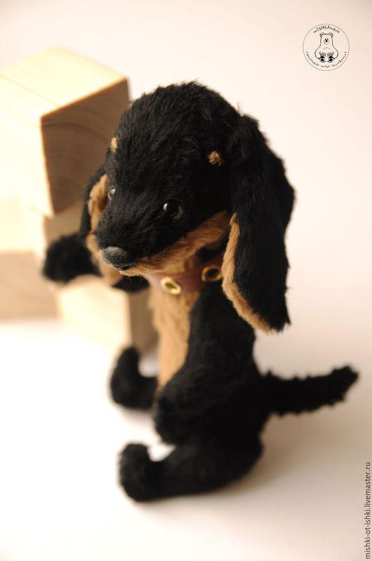 Мишки Тедди ручной работы. Ярмарка Мастеров - ручная работа. Купить такса Лонгфеллоу. Handmade. Черный, мишка, синтепух