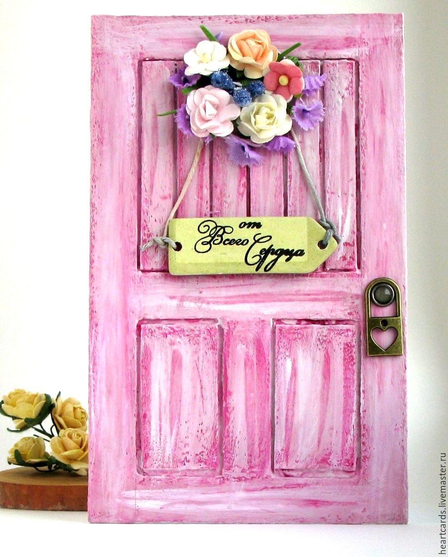 Открытка дверь мастер класс