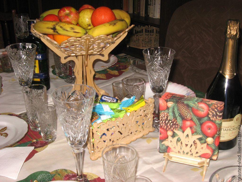 """Ваза """"Лилия"""" под фрукты и сладости"""