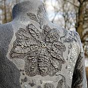 """Одежда ручной работы. Ярмарка Мастеров - ручная работа Арт-пальто №2 """"Ручьи"""". Handmade."""