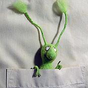 Мягкие игрушки ручной работы. Ярмарка Мастеров - ручная работа Игрушки: Букашки, тараканчик, карманный таракан. Handmade.
