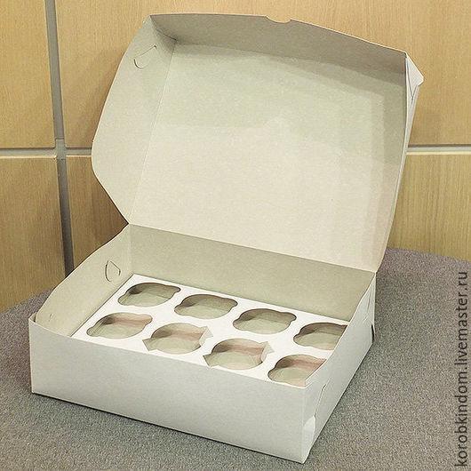 Упаковка ручной работы. Ярмарка Мастеров - ручная работа. Купить Коробочка 33х25х10 см белая. Handmade. Коробочка, коробка для пряников