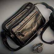 Сумки и аксессуары handmade. Livemaster - original item M0103.  Man`s bag.Skin. Handmade. Alia Svalia. Handmade.