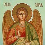 Картины и панно handmade. Livemaster - original item The Holy Guardian Angel.The icon is handwritten. Handmade.
