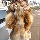 Верхняя одежда ручной работы. Ярмарка Мастеров - ручная работа. Купить Куртка,пальто,френч замшевый с отделкой из лисы. Handmade.