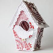Подарки к праздникам handmade. Livemaster - original item The birdhouse on the tree.. Handmade.