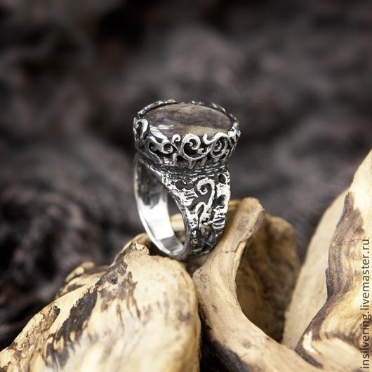 """Кольца ручной работы. Ярмарка Мастеров - ручная работа. Купить Кольцо """"Мелисса"""". Handmade. Серебряный, натуральные камни, лунный камень"""