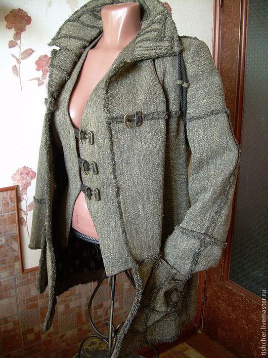 """Верхняя одежда ручной работы. Ярмарка Мастеров - ручная работа. Купить Пальто, жилет и рюкзак  """"  Осенний винтаж"""". Handmade."""