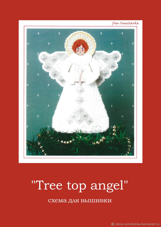 """Схема для вышивки: Фигурка ангела """"Tree top angel"""", Схемы для вышивки, Курск,  Фото №1"""