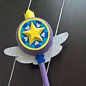 Куклы и игрушки ручной работы. Ярмарка Мастеров - ручная работа Волшебная палочка Стар Баттерфляй. Handmade.