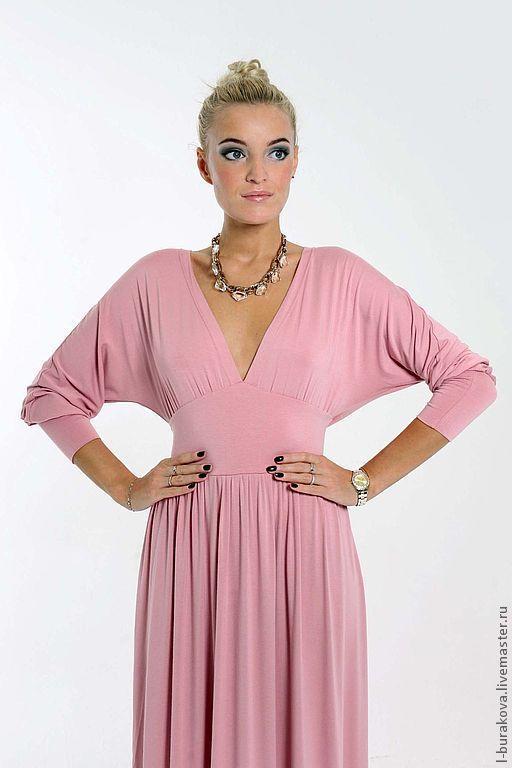 Платья ручной работы. Ярмарка Мастеров - ручная работа. Купить Вечернее платье. Handmade. Бледно-розовый, шикарное платье