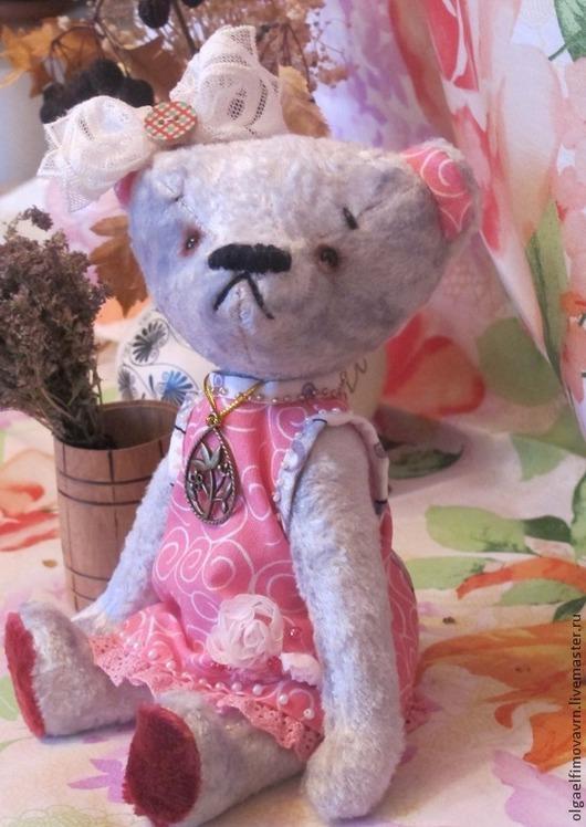 Мишки Тедди ручной работы. Ярмарка Мастеров - ручная работа. Купить Мишка тедди  Лизи. Handmade. Мишка тедди