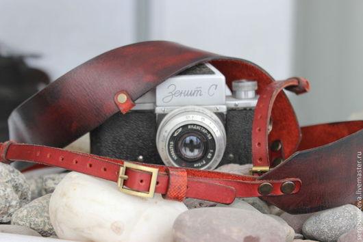 Пояса, ремни ручной работы. Ярмарка Мастеров - ручная работа. Купить Ремень для фотоаппарата 150см.. Handmade. Коричневый, фотограф, фотоаксессуары