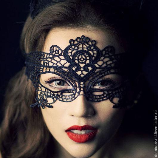 Новый год 2017 ручной работы. Ярмарка Мастеров - ручная работа. Купить карнавальная маска. Handmade. Черный, маска, маскарадный костюм