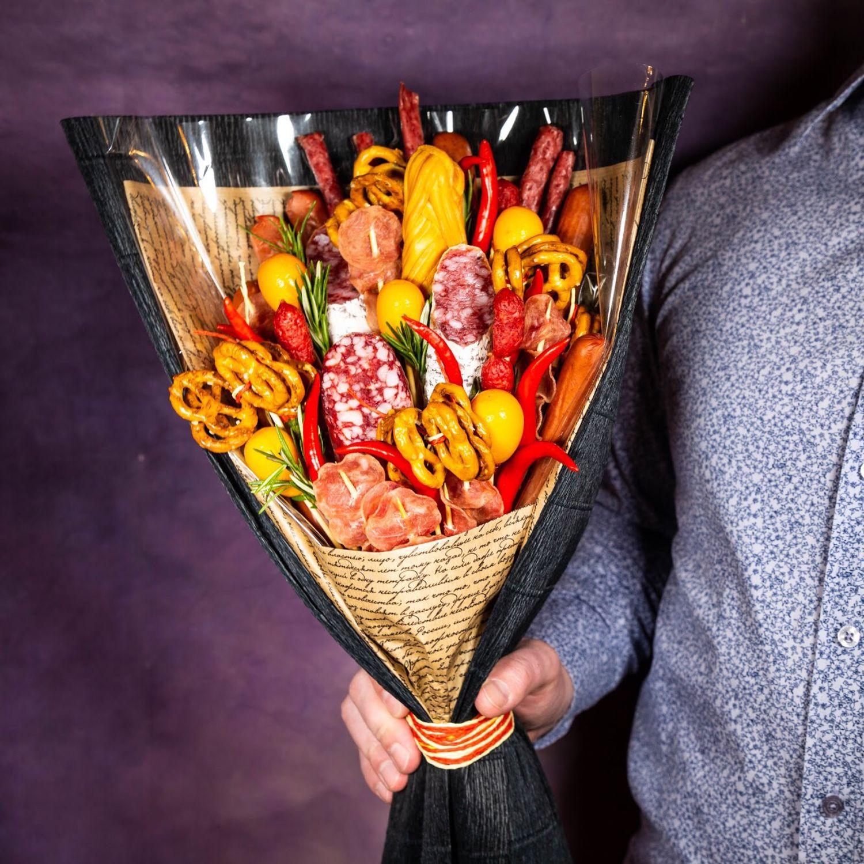 Букет из колбасных изделий, Подарки, Москва, Фото №1
