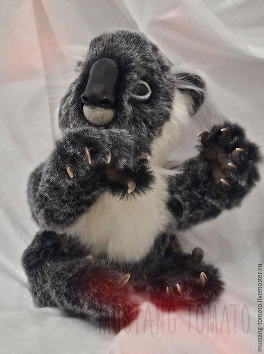 Мишки Тедди ручной работы. Ярмарка Мастеров - ручная работа. Купить Коала Джой. Handmade. Серый, нежный подарок