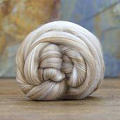 Материалы для творчества handmade. Livemaster - original item V. 60. Blend of Baby camel/Merino white 18,5 micron. 50 grams.. Handmade.