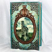 """Для дома и интерьера ручной работы. Ярмарка Мастеров - ручная работа """"Семейное гнездо"""" большая книга-шкатулка. Handmade."""