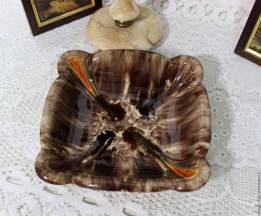 """Винтажная посуда. Ярмарка Мастеров - ручная работа. Купить Керамическая ваза """"Jasba Keramik"""" Германия Art Deco 1950-е года. Handmade."""