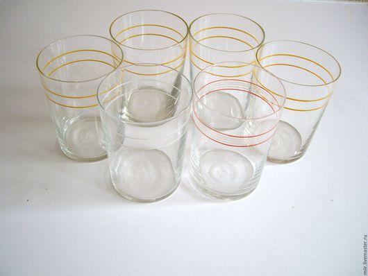Винтажная посуда. Ярмарка Мастеров - ручная работа. Купить стаканы для подстаканников. Handmade. Стекло, ретро, СССР, стекло