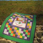 Одеяла ручной работы. Ярмарка Мастеров - ручная работа Детское лоскутное одеялко для мальчика. Handmade.