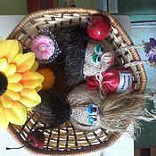 Цветы и флористика ручной работы. Ярмарка Мастеров - ручная работа оберги,домовята. Handmade.