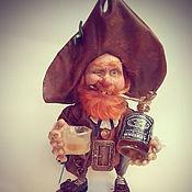 Куклы и игрушки handmade. Livemaster - original item Dwarf Pirate. Handmade.