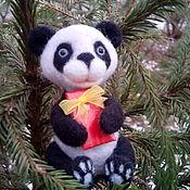 Мягкие игрушки ручной работы. Ярмарка Мастеров - ручная работа Панда мягкая игрушка. Handmade.