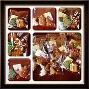 Сувениры и подарки ручной работы. Ярмарка Мастеров - ручная работа набор из 6 мини пряничков. Handmade.
