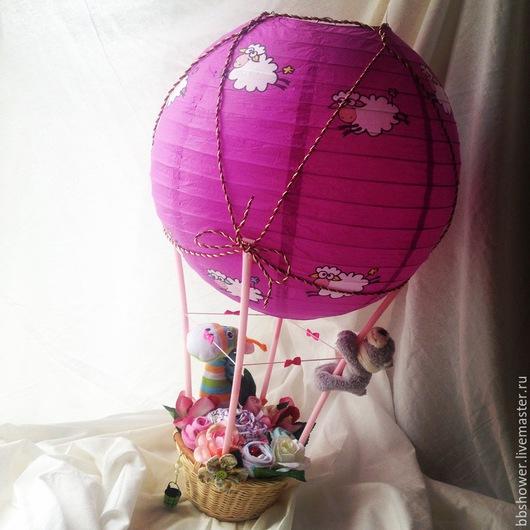 Подарки для новорожденных, ручной работы. Ярмарка Мастеров - ручная работа. Купить Воздушный шар. Handmade. Разноцветный, подарок маме и малышу