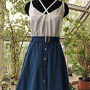 Одежда handmade. Livemaster - original item Top basic, top silk, top female .. Handmade.