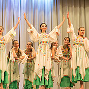 """Одежда ручной работы. Ярмарка Мастеров - ручная работа Танец """" Моя Россия"""". Handmade."""