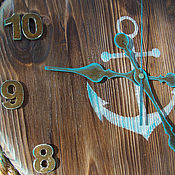 """Для дома и интерьера ручной работы. Ярмарка Мастеров - ручная работа Часы настенные """"Ты помнишь как все начиналось?..."""". Handmade."""